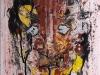 J.Styng: Miksi, 2014, maali kankaalle. 73x60cm.
